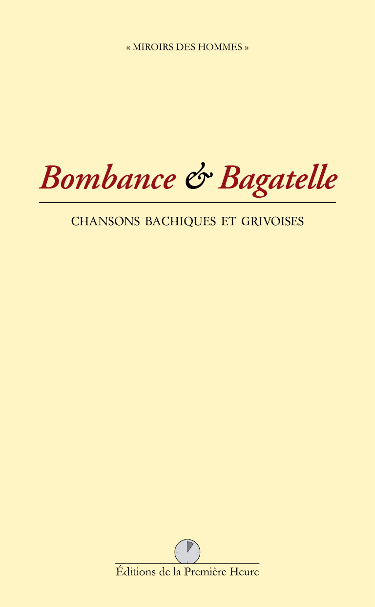 Bombance & bagatelle, collectif