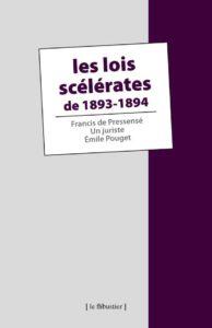 F. de Pressensé, un juriste et E. Pouget - Les Lois scélérates de 1893-1894